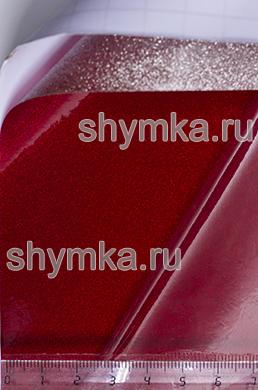 Автовинил Air Free Глянец Алмазный КРАСНЫЙ полупрозрачный ширина 1,5м толщина 250 микрон