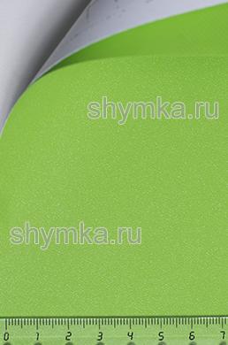 Автовинил с каналами Алмазная крошка САЛАТОВАЯ ширина 1,5м толщина 180 микрон