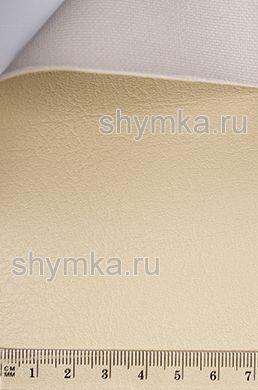 Биэластик на подложке БЕЖЕВЫЙ 238-2438 ширина 1,4м толщина 1мм