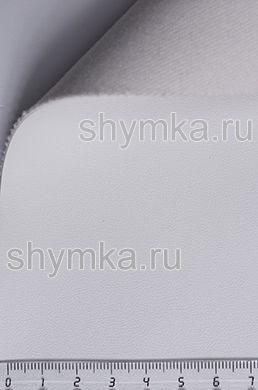 Экокожа Alba Rustika №530 БЕЛОСНЕЖНАЯ ширина 1,4м толщина 1,2мм