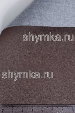 Экокожа CITY CHOCOLATE ширина 1,4м толщина 1мм