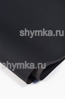 Eco microfiber leather Dakota D 2101 BLACK thickness 1.5mm width 1.4m