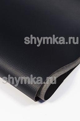 Eco microfiber leather Altona C 2101 BLACK thickness 1.5mm width 1.4m