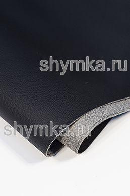 Eco microfiber leather Standart BLACK width 1,4m thickness 1,3mm
