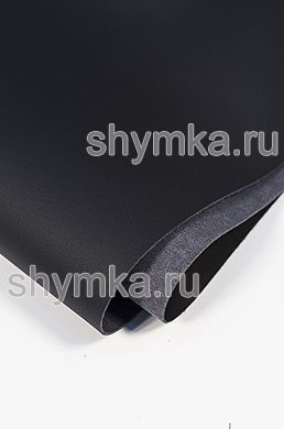 Eco microfiber leather FOR STEERING WHEEL Nappa SW-N 01 BLACK thickness 1,35mm width 1,4m