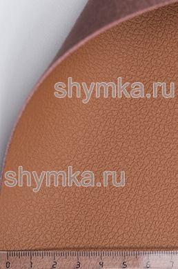 Экокожа на микрофибре Dakota D 116 ЛЕСНОЙ-ОРЕХ ширина 1,4м толщина 1,5мм