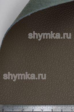 Экокожа на микрофибре Dakota D 2119 ТЕМНО-CЕРО-БЕЖЕВАЯ ширина 1,4м толщина 1,5мм