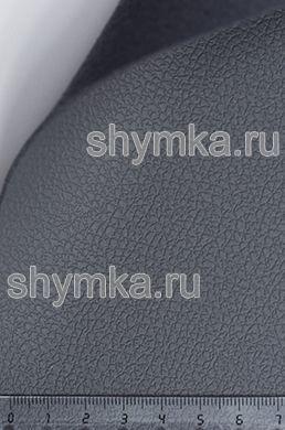 Экокожа на микрофибре Dakota D 2149 СЕРАЯ ширина 1,4м толщина 1,5мм