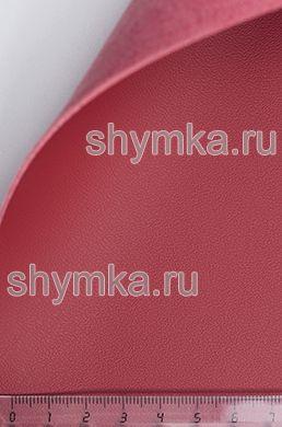 Экокожа на микрофибре Nappa N 2118 КАРМИН ширина 1,4м толщина 1,5мм