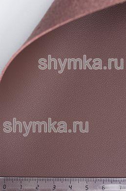 Экокожа на микрофибре Nappa N 2122 КАШТАН ширина 1,4м толщина 1,5мм