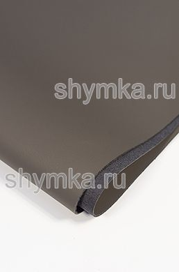 Eco microfiber leather FOR STEERING WHEEL Schweitzer Nappa 6022 ZINC GRAY thickness 1,55mm width 1,35m