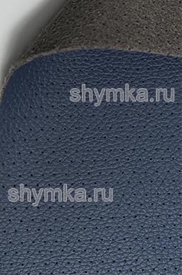 Экокожа на микрофибре перфорированная Altona РС 115 СИНЯЯ ширина 1,4м толщина 1,5мм