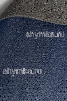 Экокожа на микрофибре перфорированная Altona РС 2106 СИНЯЯ ширина 1,4м толщина 1,5мм