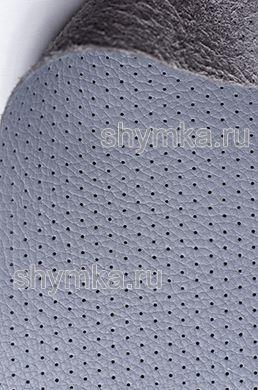 Экокожа на микрофибре перфорированная Altona РС 2135 СЕРАЯ ширина 1,4м толщина 1,5мм
