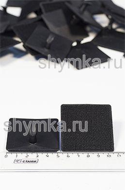 Универсальный крепеж Площадка на липучке с крючком UNI-T-BLACK