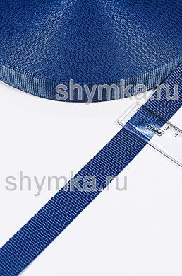 Лента ременная/окантовочная Nova ширина 25мм плотность 14г/м ДЕНИМ