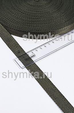 Лента ременная/окантовочная Tefi ширина 20мм ОБЛЕГЧЕННАЯ 6,5г/м ХАКИ