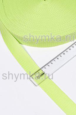 Лента ременная/окантовочная Текс ширина 30мм плотность 15г/м ЛАЙМ №229