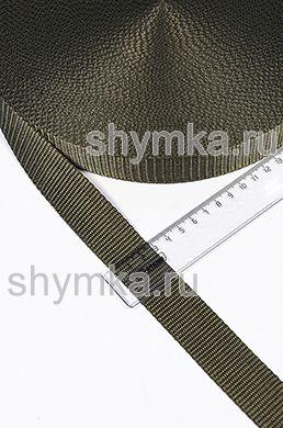 Лента ременная/окантовочная Текс ширина 30мм плотность 15г/м ХАКИ №263