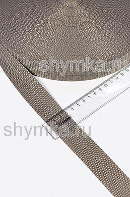 Лента ременная/окантовочная Текс ширина 30мм плотность 15г/м СЕРО-БЕЖЕВАЯ №292