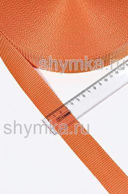 Лента ременная/окантовочная Текс ширина 30мм плотность 15г/м ОРАНЖЕВАЯ №S02
