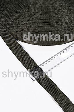 Лента ременная/окантовочная Текс ширина 30мм плотность 15г/м ХАКИ №327