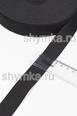 Резинка тканая Стандарт ЧЕРНАЯ ширина 25мм