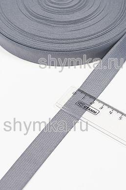Резинка тканая Стандарт СЕРАЯ ширина 20мм