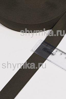Резинка тканая Софт ХАКИ ширина 25мм