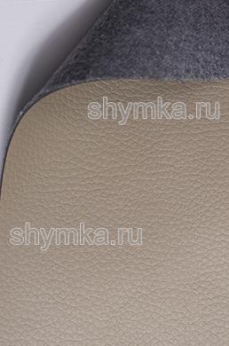 Экокожа Kомпаньон Altona 2140 ТЕМНО-БЕЖЕВАЯ ширина 1,4м толщина 1,4мм