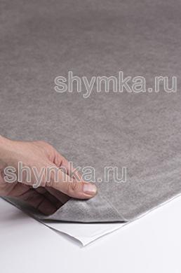 Карпет на клею Шумофф СВЕТЛО-СЕРЫЙ ширина 1,25м толщина 3,5мм
