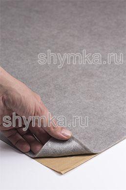 Карпет на клею Российский СВЕТЛО-СЕРЫЙ ширина 1,4м толщина 3,5мм