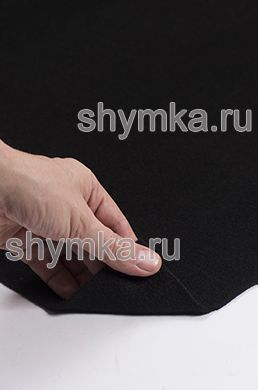 Карпет Российский ЧЕРНЫЙ ширина 1,5м толщина 3,5мм