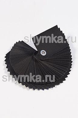 Catalog of Eco microfiber leather BLACK 100x75mm