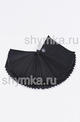 Catalog of Eco microfiber leather BLACK 150x100mm