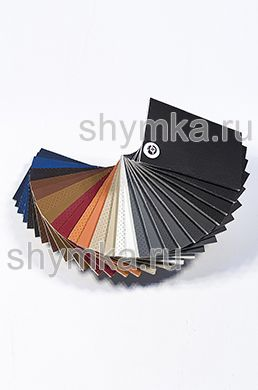 Catalog of Eco leather Oregon STRONG on foam rubber 5mm and backing