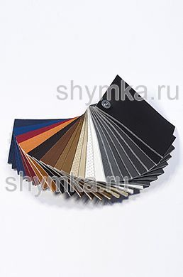 Catalog of Eco leather Oregon STRONG on foam rubber 3mm and backing