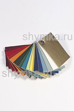 Catalog of Eco leather Oregon SLIM-2 without perforation on foam rubber 5mm and backing