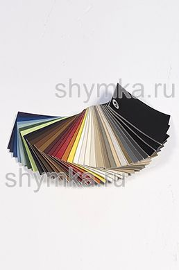 Catalog of Eco leather Oregon SLIM without perforation on foam rubber 3mm and backing