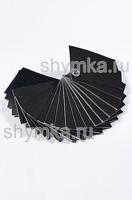 Catalog of Eco leather Oregon BLACK on foam rubber