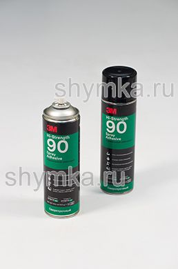 Клей аэрозольный контактный Scotch-Weld 3M 90 объем клея 500мл объем баллона 650мл