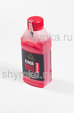 Клей жидкий 888 Ultra Red в пластиковой банке 0,5л