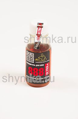 Отвердитель жидкий для клея 888 Ultra Plus в ПЭТ банке 0,1л