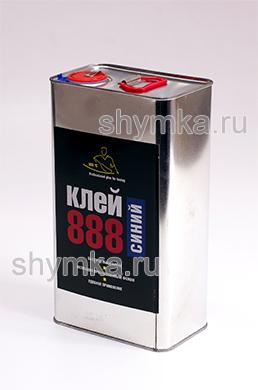 Клей жидкий 888 ULTRA Blue в железной банке 5л