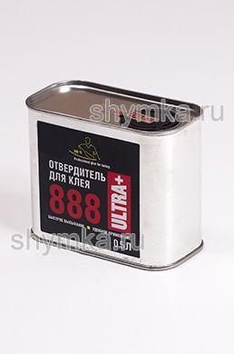 Отвердитель жидкий для клея 888 Ultra Plus в железной банке 0,5л