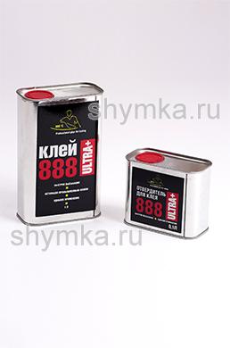 Клей жидкий термоактивируемый 888 Ultra Plus 1л + отвердитель жидкий 888 Ultra Plus 0,1л
