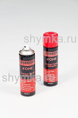 Клей аэрозольный контактный Tuskbond ONE объем клея 500мл объем баллона 650мл