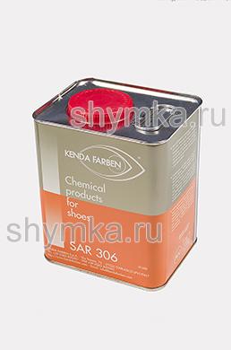 Клей жидкий SAR 306 БЕЛЫЙ ПОЛУПРОЗРАЧНЫЙ термоактивируемый полиуретановый металлическая банка 2кг