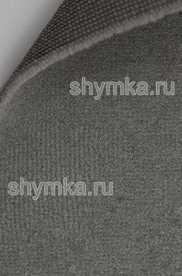 Ковролин обивочный UPA ворс 3мм подложка 2мм СЕРЫЙ ширина 1,75м