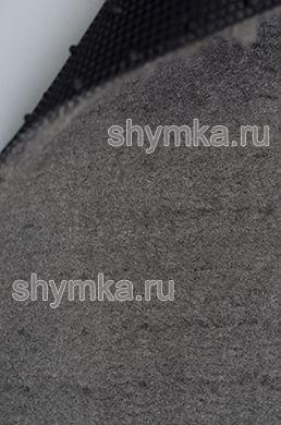 Ковролин на термопластичной резине UPP ворс 6мм резина 2мм СВЕТЛО-СЕРЫЙ ширина 1,5м